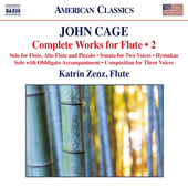 Album artwork for Cage: Complete Works for Flute, Vol. 2
