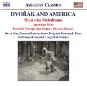 Album artwork for DVORAK AND AMERICA