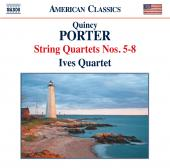 Album artwork for QUINCY PORTER: STRING QUARTETS 5-8