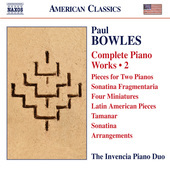 Album artwork for Bowles: Complete Piano Works, Vol. 2