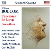 Album artwork for Bolcom: Canciones de Lorca & Prometheus (Live)
