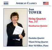 Album artwork for Tower: String Quartets Nos. 3-5 & Dumbarton Quinte