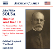 Album artwork for Sousa: Music for Wind Band, Vol. 17