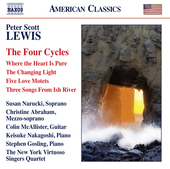 Album artwork for Peter Scott Lewis: The Four Cycles