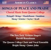 Album artwork for Songs of Peace & Praise