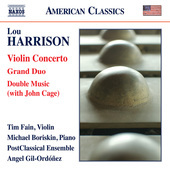 Album artwork for Harrison: Violin Concerto, Grand Duo & Double Musi