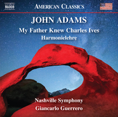 Album artwork for Adams: My Father Knew Charles Ives - Harmonielehre