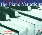 Album artwork for Beethoven: The Piano Variations - Buchbinder, Schu