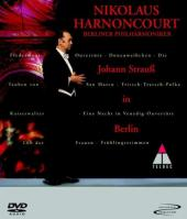 Album artwork for Johann Strauss in Berlin / Harnoncourt, Berlin Phi