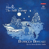 Album artwork for Vivaldi: The Folk Seasons