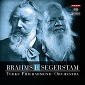 Album artwork for BRAHMS II SEGERSTAM