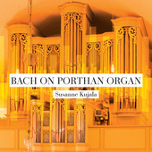 Album artwork for Bach on Porthan Organ