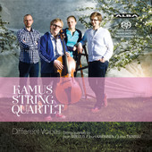 Album artwork for Different Voices: String Quartets Sibelius, Kaipai