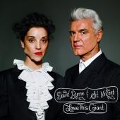 Album artwork for DAVID BYRNE / ST. VINCENT - LOVE THIS GIANT