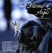 Album artwork for BUSINESS OF ANGELS / Melville, Harris, etc.