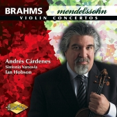 Album artwork for BRAHMS / MENDELSSOHN: VIOLIN CONCERTOS