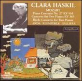 Album artwork for Clara Haskil plays Mozart & Bach / Galliera