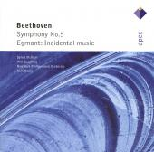 Album artwork for BEETHOVEN: SYMPHONY NO. 5; EGMONT, OP.84
