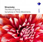 Album artwork for THE RITE OF SPRING/SYMPHONY IN THREE MOVEMENTS