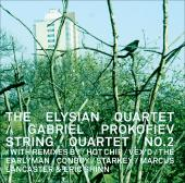 Album artwork for G. Prokofiev - String Quartet no.2