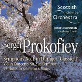 Album artwork for Prokofiev: Symphony #1, Violin Concerto #2