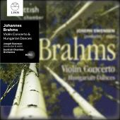 Album artwork for Brahms: Violin Concerto, Hungarian Dances