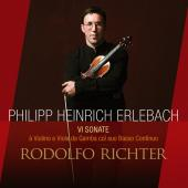 Album artwork for ERLEBACH: SONATAS