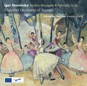Album artwork for Stravinsky: Apollon musagete, Pulcinella Suites