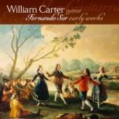 Album artwork for Sor: Early Works for Guitar / William Carter