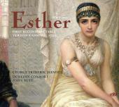Album artwork for HANDEL: ESTHER - FIRST RECONSTRUCTABLE VERSION