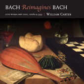 Album artwork for BACH REIMAGINES BACH - Works for Lute