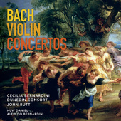 Album artwork for J.S. Bach: Violin Concertos