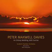 Album artwork for Maxwell Davies: An Orkney Wedding, With Sunrise
