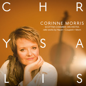 Album artwork for CHRYSALIS - Works for Cello and Orchestra / Morris