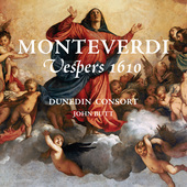 Album artwork for Monteverdi: VESPERS 1610 / Dunedin Consort