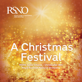 Album artwork for CHRISTMAS FESTIVAL / RSNO Junior chorus