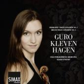 Album artwork for VIOLIN CONCERTOS of Prokofiev & Bruch / Hagen