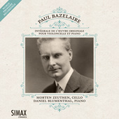 Album artwork for Bazelaire: Complete Works for Cello and Piano