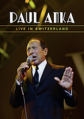 Album artwork for Paul Anka: Live in Switzerland
