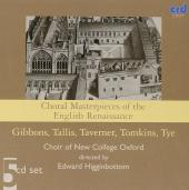 Album artwork for CHORAL MASTERPIECES OF THE ENGLISH RENAISSANCE