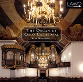 Album artwork for THE ORGAN OF OSLO CATHEDRAL