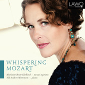 Album artwork for WHISPERING MOZART