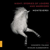 Album artwork for NIGHT: STORIES OF LOVERS & WAR / Monteverdi