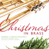 Album artwork for Christmas in Brass. Gabriel V Brass Ensemble