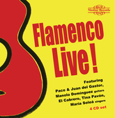 Album artwork for FLAMENCO LIVE