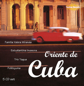 Album artwork for ORIENTE DE CUBA