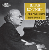 Album artwork for Röntgen: Piano Music, Vol. 2