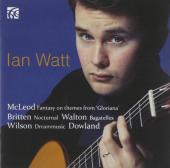 Album artwork for Ian Watt: British Guitar Works