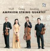 Album artwork for Wolf - Grieg - Janacek / Amphion String Quartet