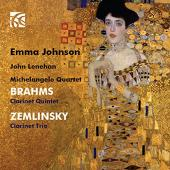 Album artwork for Clarinet works of Brahms and Zemlinsky / Johnso